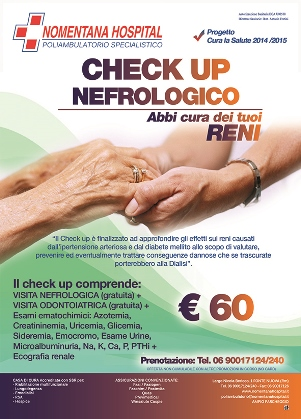 Check-up Nefrologico